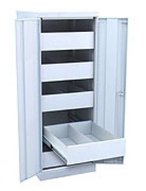 Шкаф металлический картотечный ШК-5-Д2 купить на выгодных условиях в Брянске