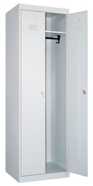 Шкаф металлический для одежды ШР-22-600 купить на выгодных условиях в Брянске