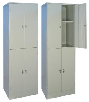 Шкаф металлический для хранения документов ШРМ - 24.0 купить на выгодных условиях в Брянске