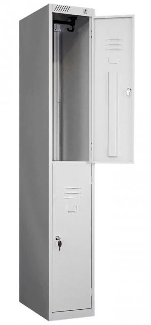 Шкаф металлический для одежды ШРС-12ДС-300 купить на выгодных условиях в Брянске