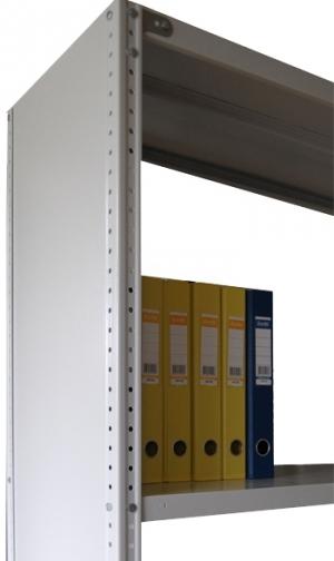 Стенка усиленная 100\30 для металлического стеллажа купить на выгодных условиях в Брянске