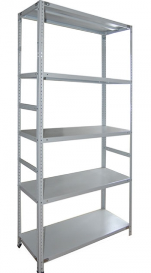 Стеллаж металлический сборный усиленный 265-2.5 купить на выгодных условиях в Брянске