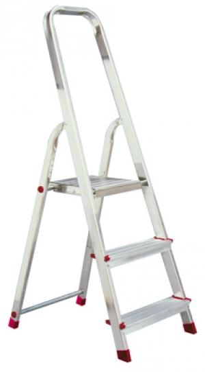 Лестница стремянка Corda 3 ступени купить на выгодных условиях в Брянске