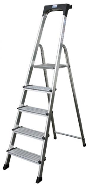 Лестница стремянка Secury 5 ступеней купить на выгодных условиях в Брянске