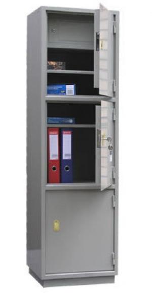 Шкаф металлический для хранения документов КБ - 033т / КБС - 033т