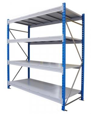 Стеллаж металлический складской 1564-2,5 купить на выгодных условиях в Брянске