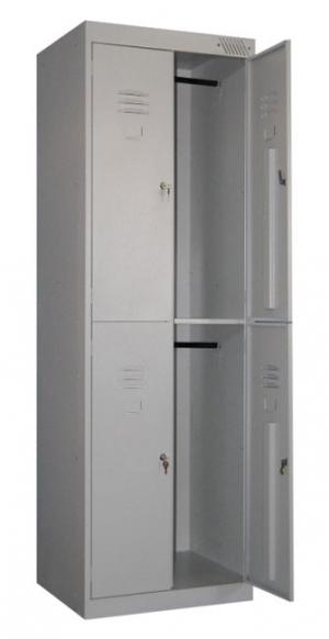 Шкаф металлический для одежды ШРK-24-800 купить на выгодных условиях в Брянске
