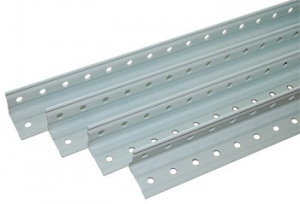 Стойка усиленная 250 для металлического стеллажа купить на выгодных условиях в Брянске
