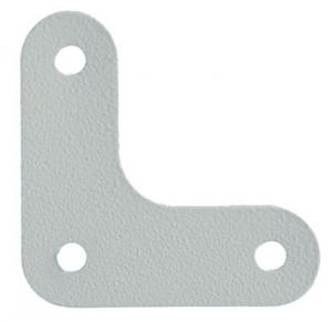 Уголок жесткости (косынка) для металлического стеллажа купить на выгодных условиях в Брянске